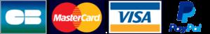 Cartes bancaires et Paypal accepté